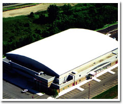 Conklin White Rubber Single Ply Roofing System by MJM Solutions Midwest in Amish Country